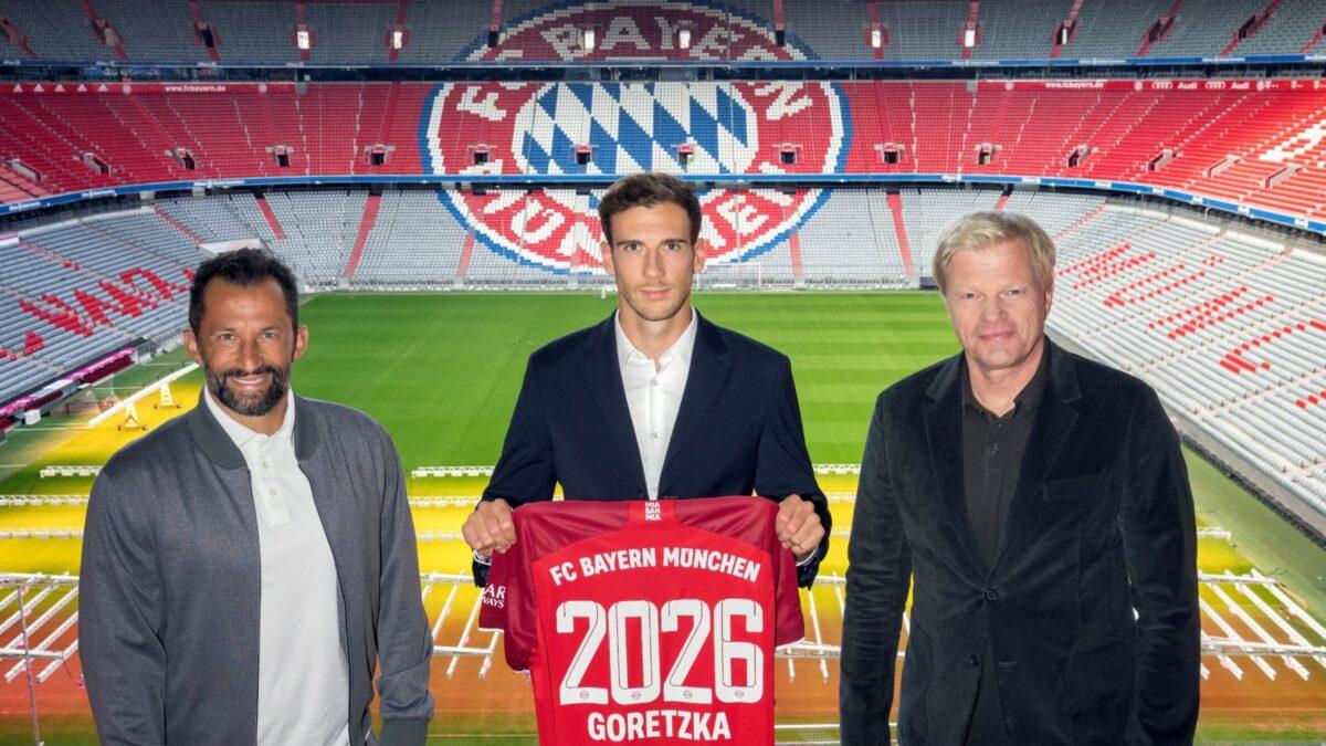 Goretzka a décidé de prolonger l'aventure à Munich (Twitter FC Bayern)