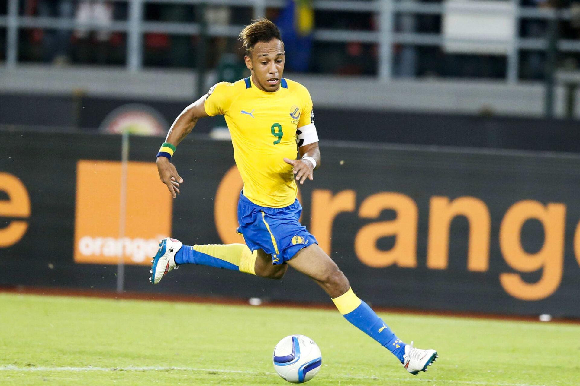 Pierre-Emerick Aubameyang portant honneur à son pays, le Gabon (Icon Sport)