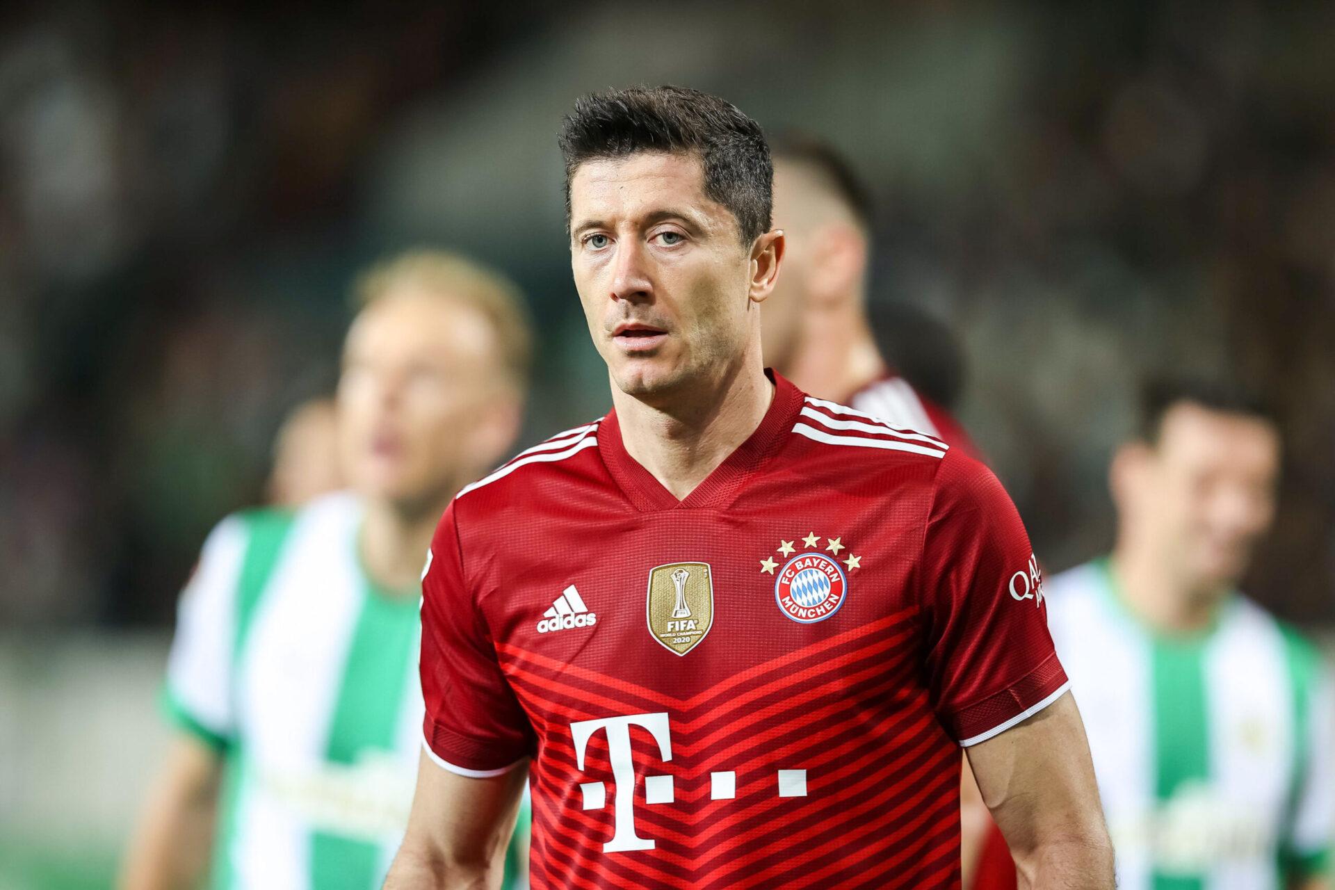 Robert Lewandowski, machine à marquer qui ne s'enraye jamais, opte au Ballon d'Or 2021. Icon Sport