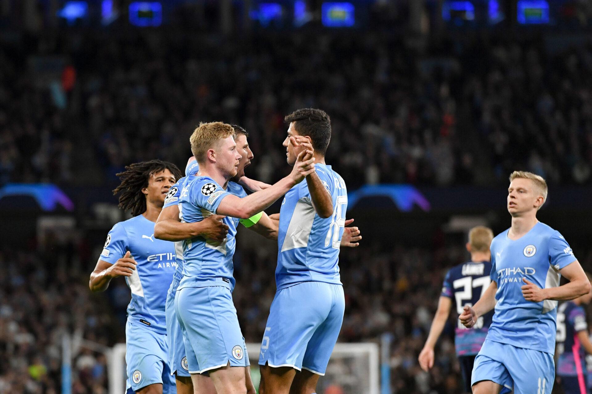 Manchester City a démarré sa campagne de Ligue des champions par un cinglant 6-3 contre Leipzig, à l'Etihad Stadium. Icon Sport