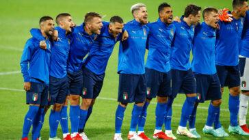 L'Italie est désormais invaincue depuis 35 rencontre de rang (iconsport)
