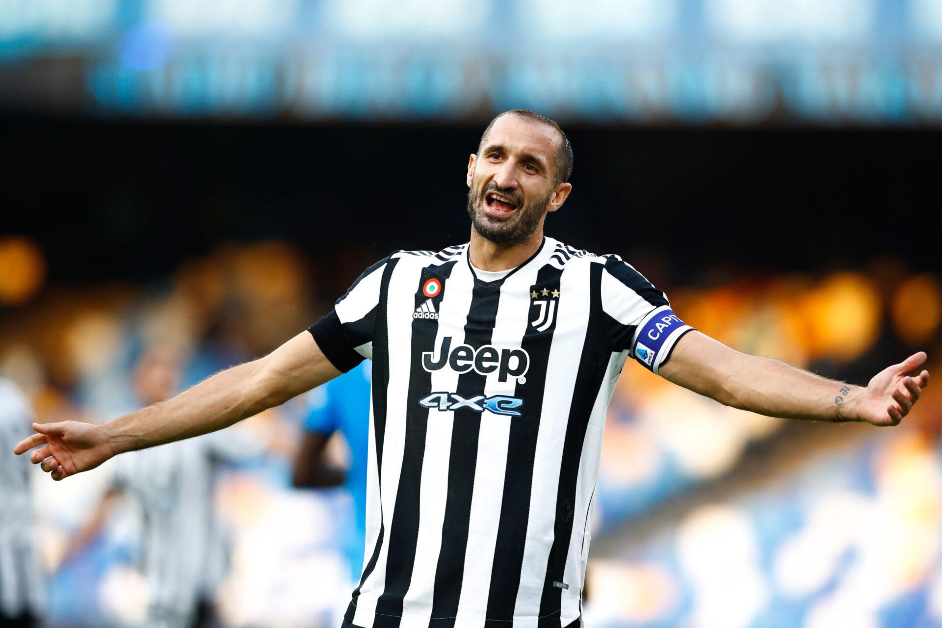 Giorgio Chiellini a tenté d'expliquer le mauvais début de saison de la Juventus (IconSport)