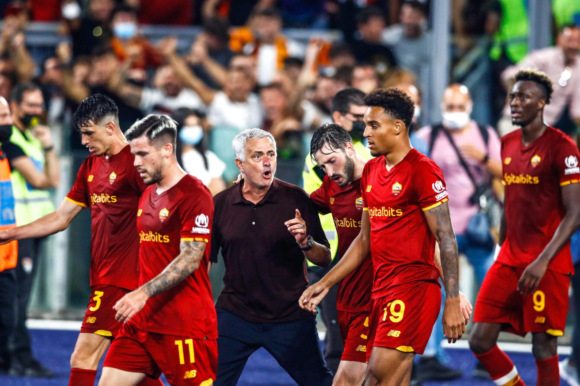 """José Mourinho a reconnu après le match que la rencontre face à Sassuolo était """"spéciale"""" pour lui (iconsport)"""