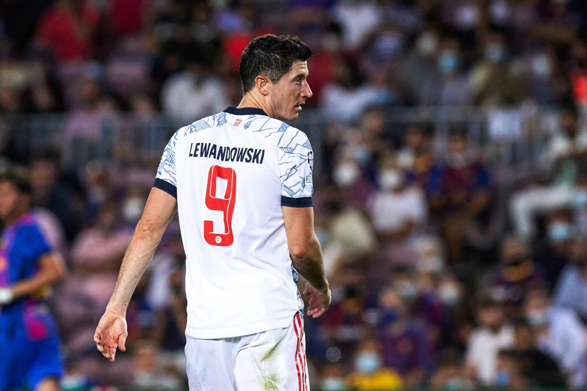 Lewandowski a commencé sa saison sur les chapeaux de roue avec le Bayern Munich. Icon Sport