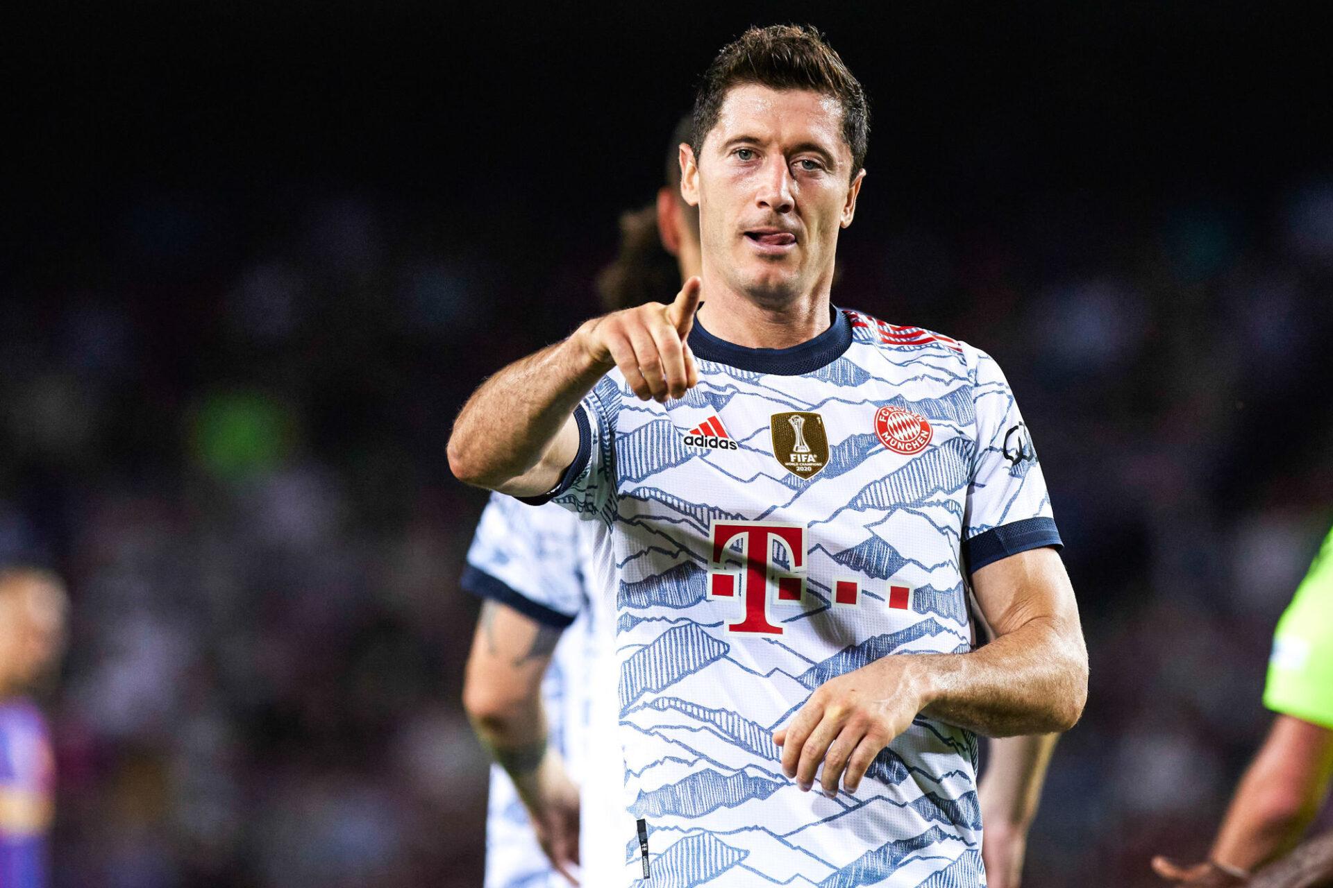 Robert Lewandowski, toujours là à la pointe de l'attaque du Bayern pour terroriser ses adversaires. Icon Sport