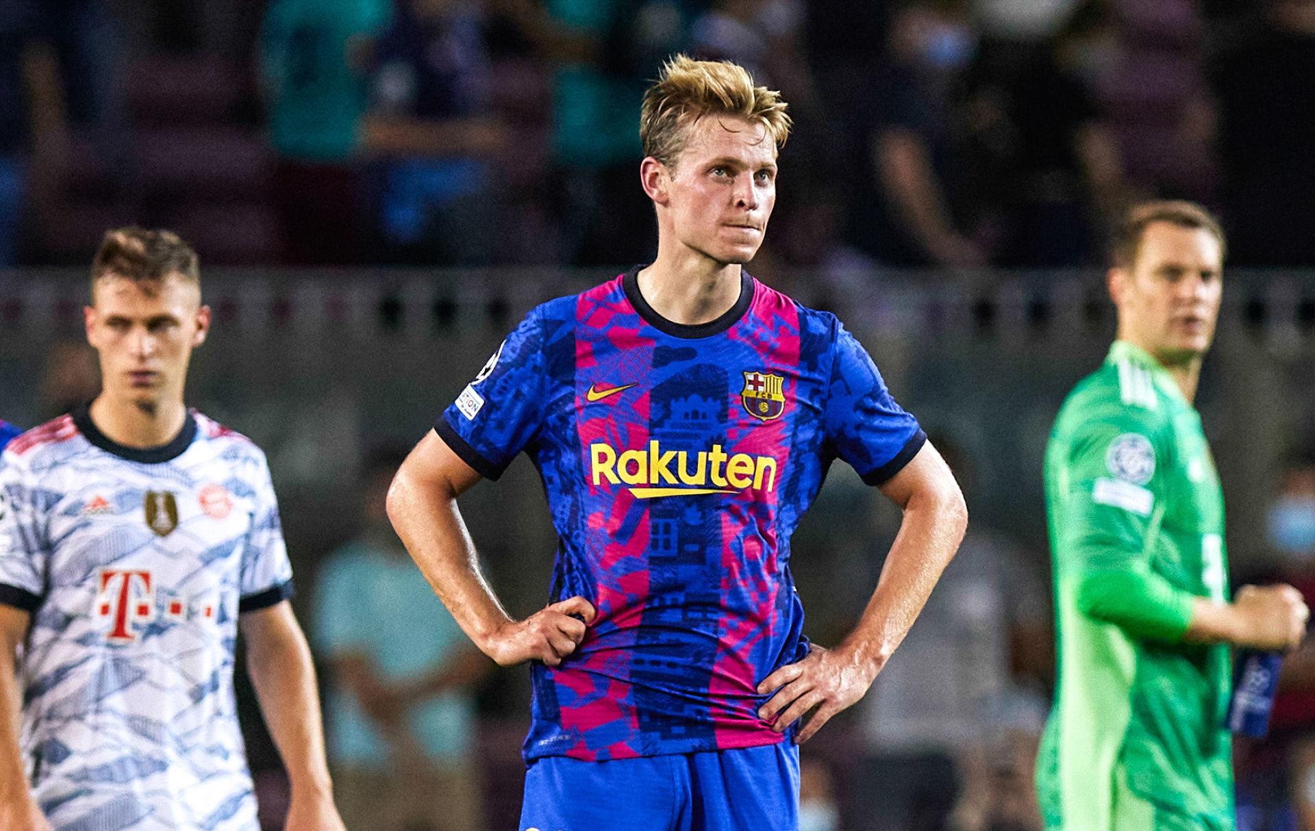 Le Barça de Frenkie De Jong n'a pas fait le poids face au Bayern Munich (0-3) (iconsport)