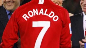 Cristiano Ronaldo fait des émules avec son maillot à Manchester United. Icon Sport