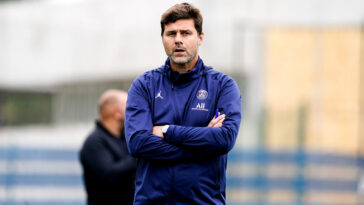Mauricio Pochettino, coach du Paris Saint-Germain (IconSport)
