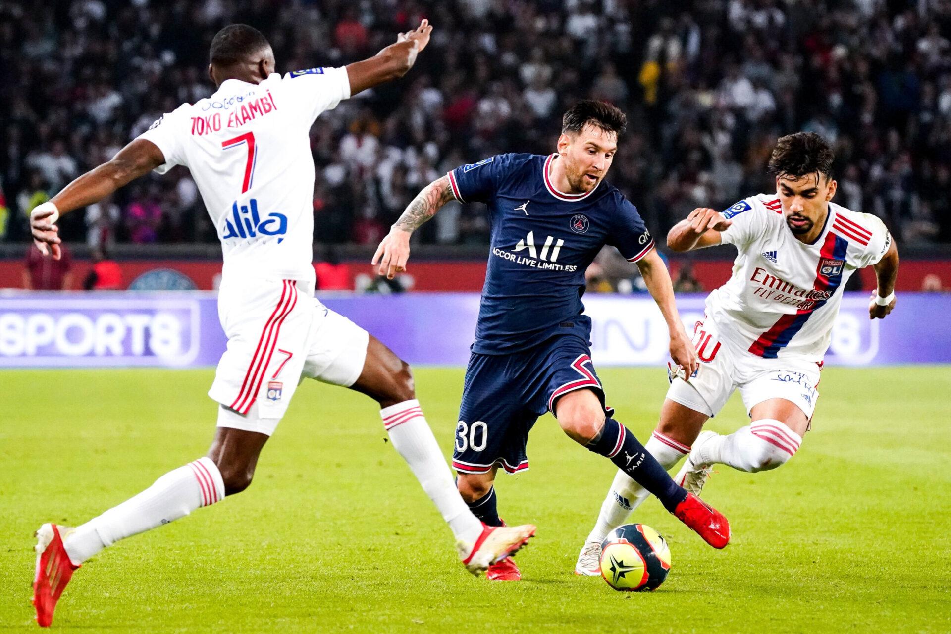 Leo Messi est apparu en jambes pour sa première titularisation au Parc des Princes avec le PSG (iconsport)