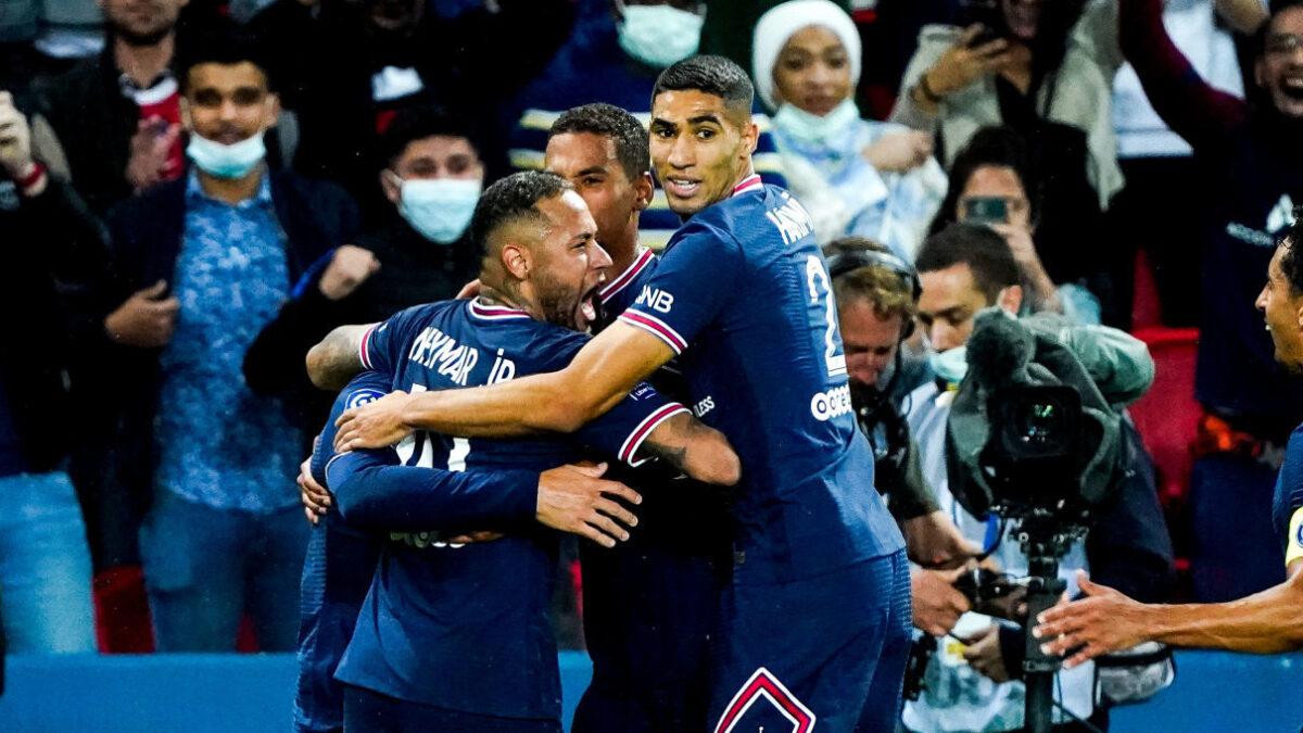 Le PSG l'a emporté sur le fil contre l'OL. Icon Sport