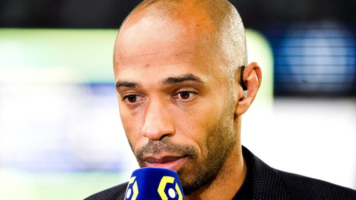 Après PSG - OL (2-1), Thierry Henry n'a pas voulu faire dans la polémique au moment de commenter la sortie prématurée de Lionel Messi (iconsport)