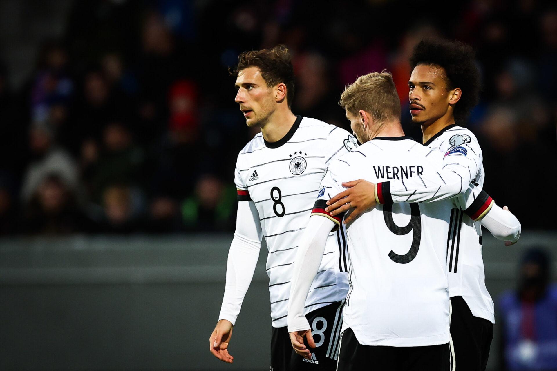 Après avoir gagné ses trois matchs en septembre, l'équipe d'Allemagne gagne deux positions au classement FIFA. Les hommes de Flick sont désormais 14es (iconsport)