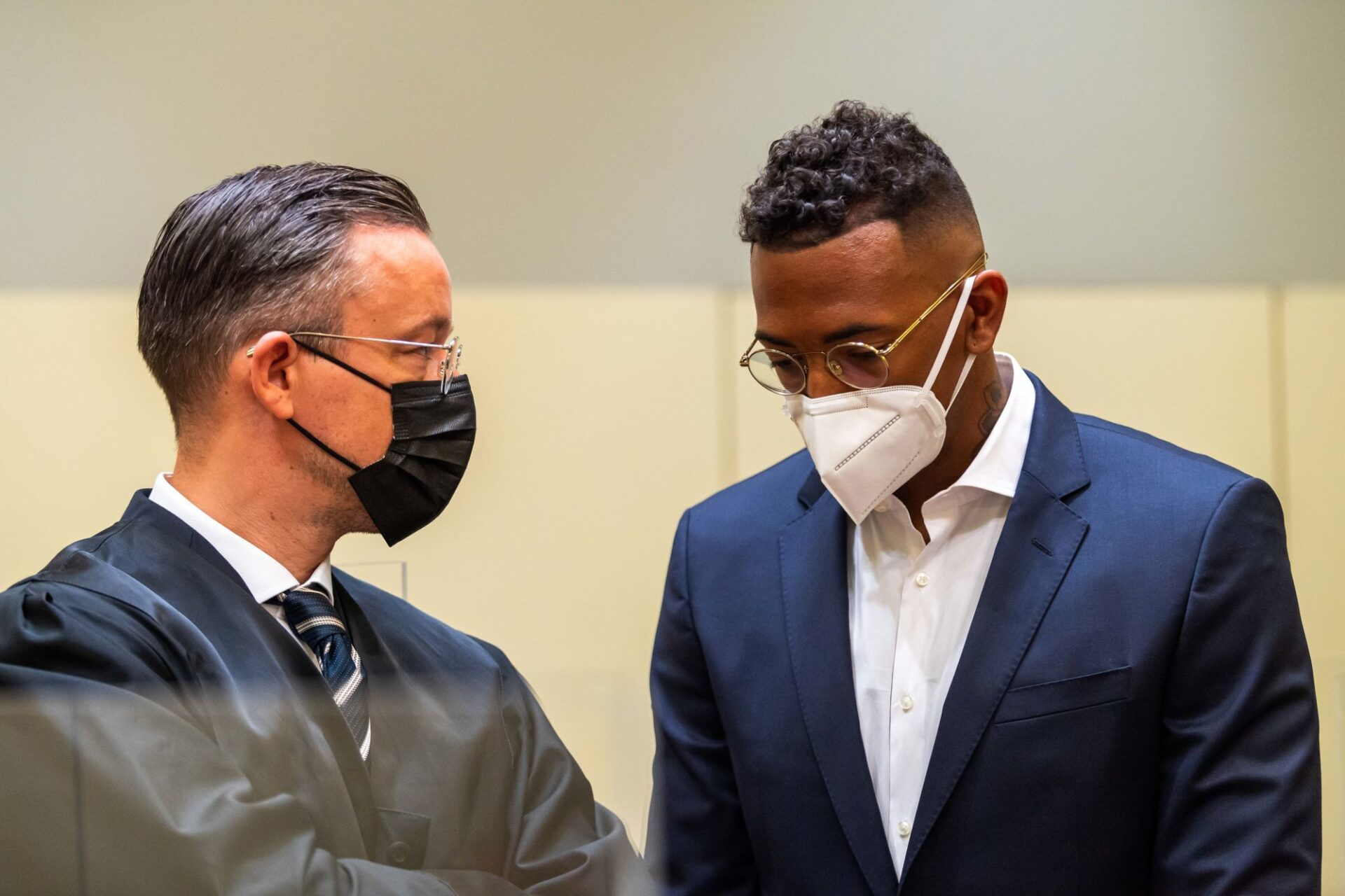 Jérôme Boateng lors de son procès. Icon Sport