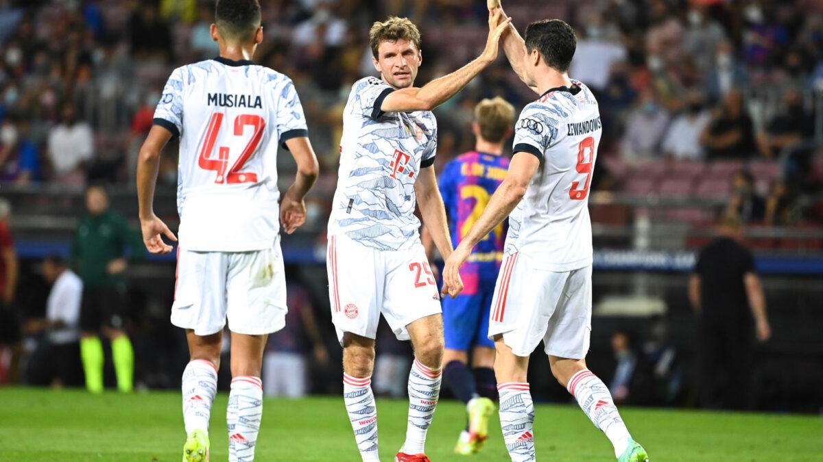 Le Bayern de Thomas Müller a battu le Barça en Ligue des champions. Icon Sport