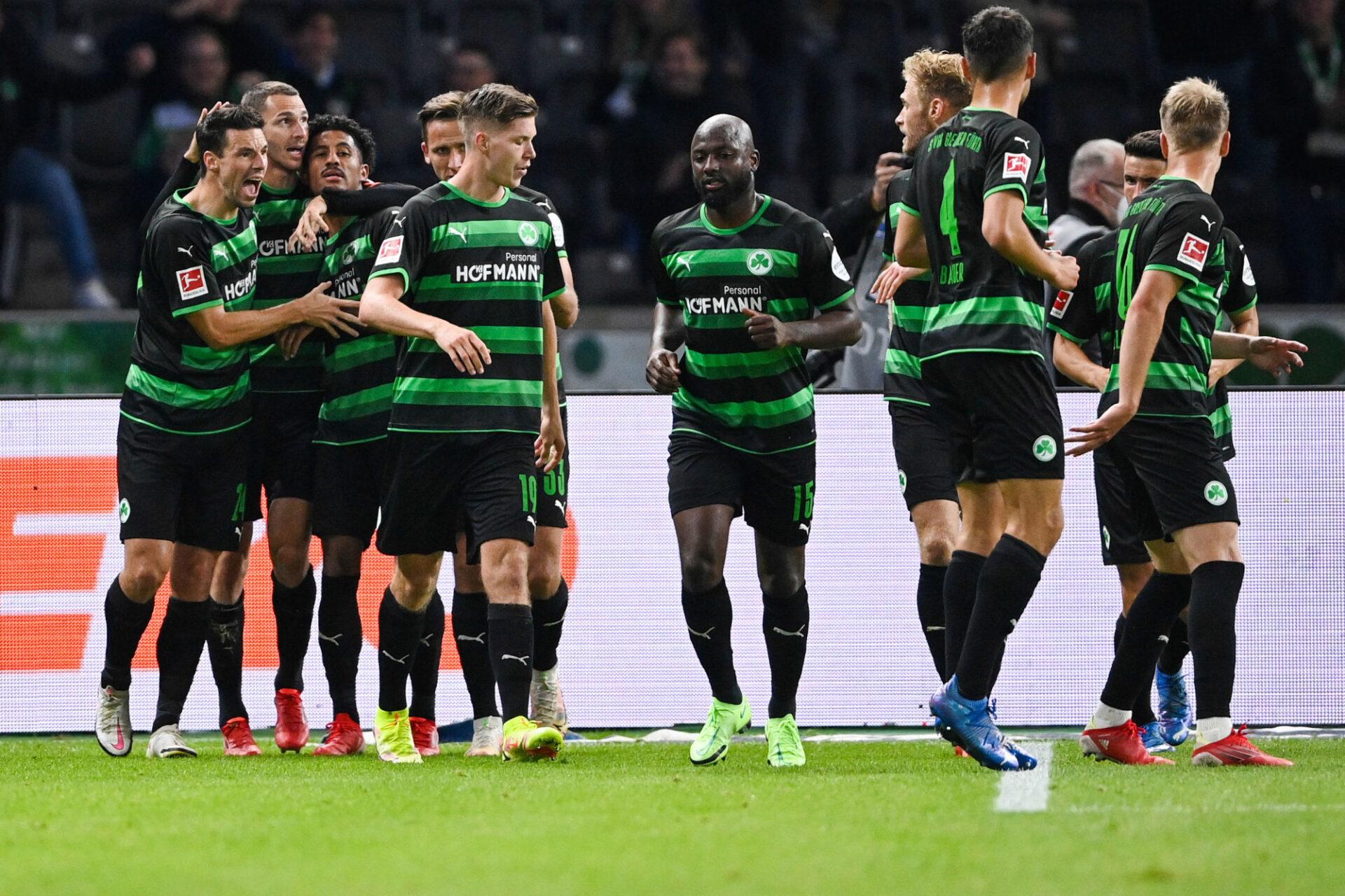 Greuther Fürth, avec l'ancien international néerlandais Jetro Willems au centre, accumule les défaites depuis le début de la saison. Icon Sport