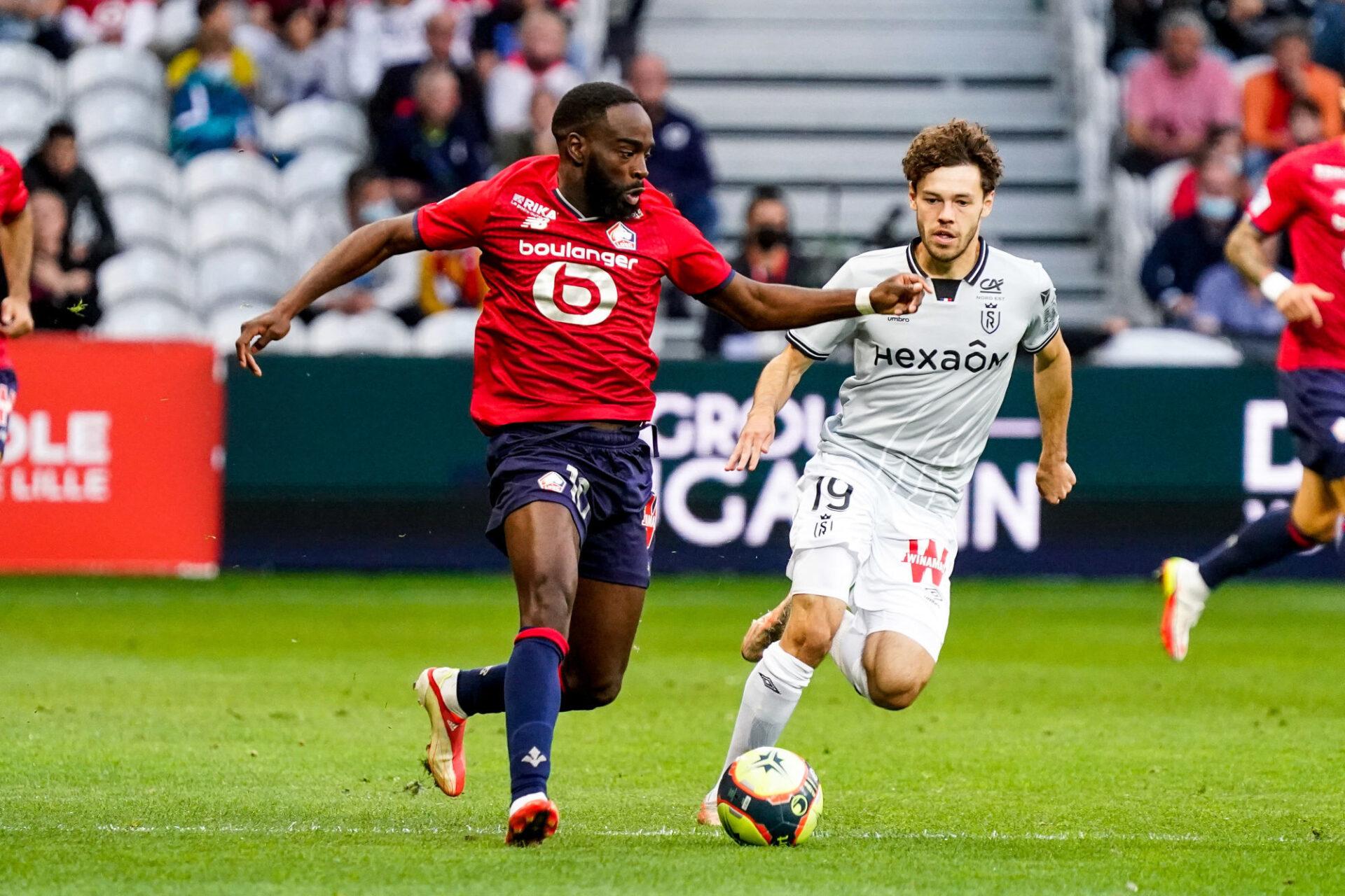 Le LOSC de Jonathan Ikoné dispute la deuxième journée de Ligue des champions contre le RB Salzbourg, mercredi 29 septembre. Icon Sport