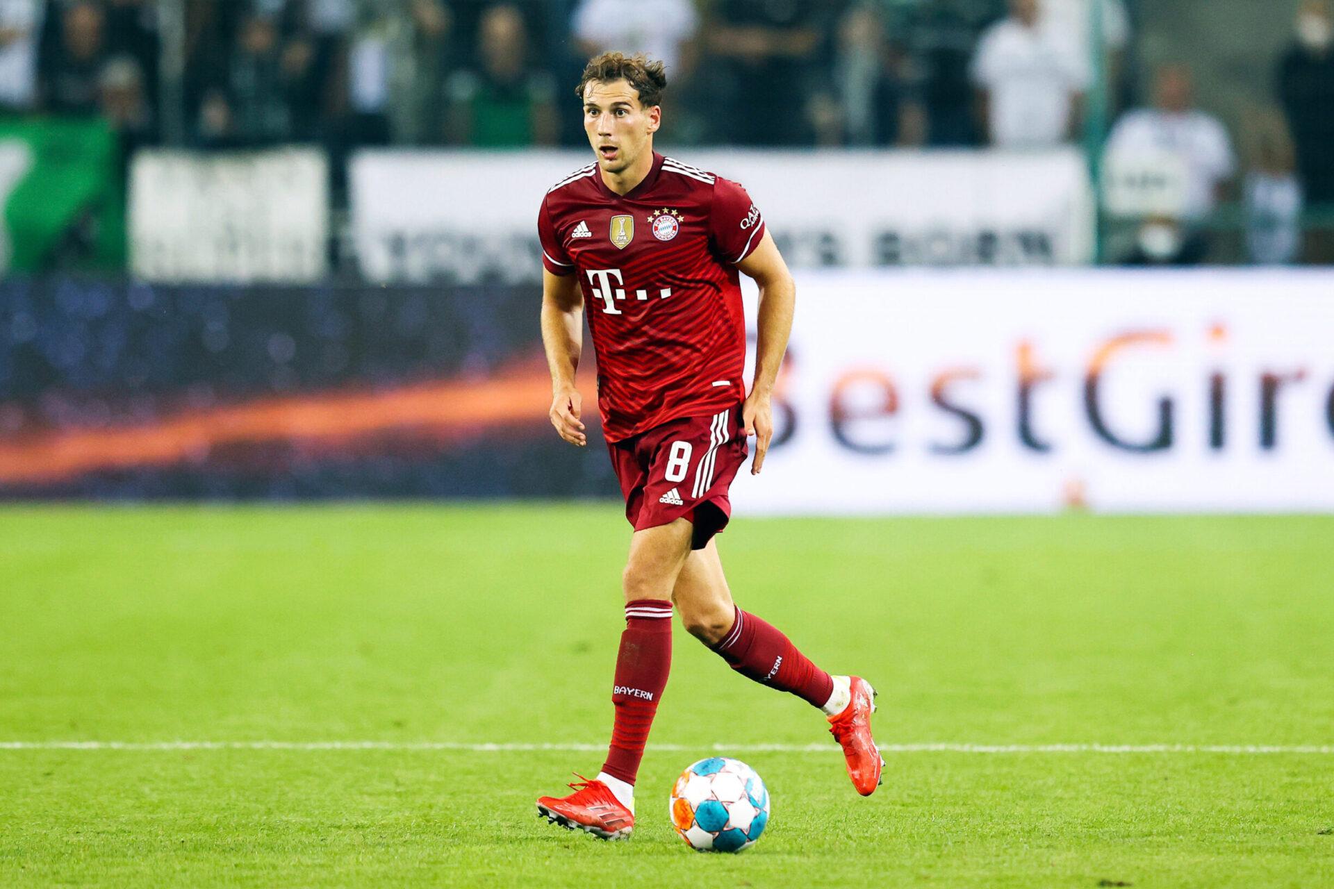 Leon Goreztka a changé de dimension au Bayern Munich, sous la houlette de Hansi Flick. Icon Sport