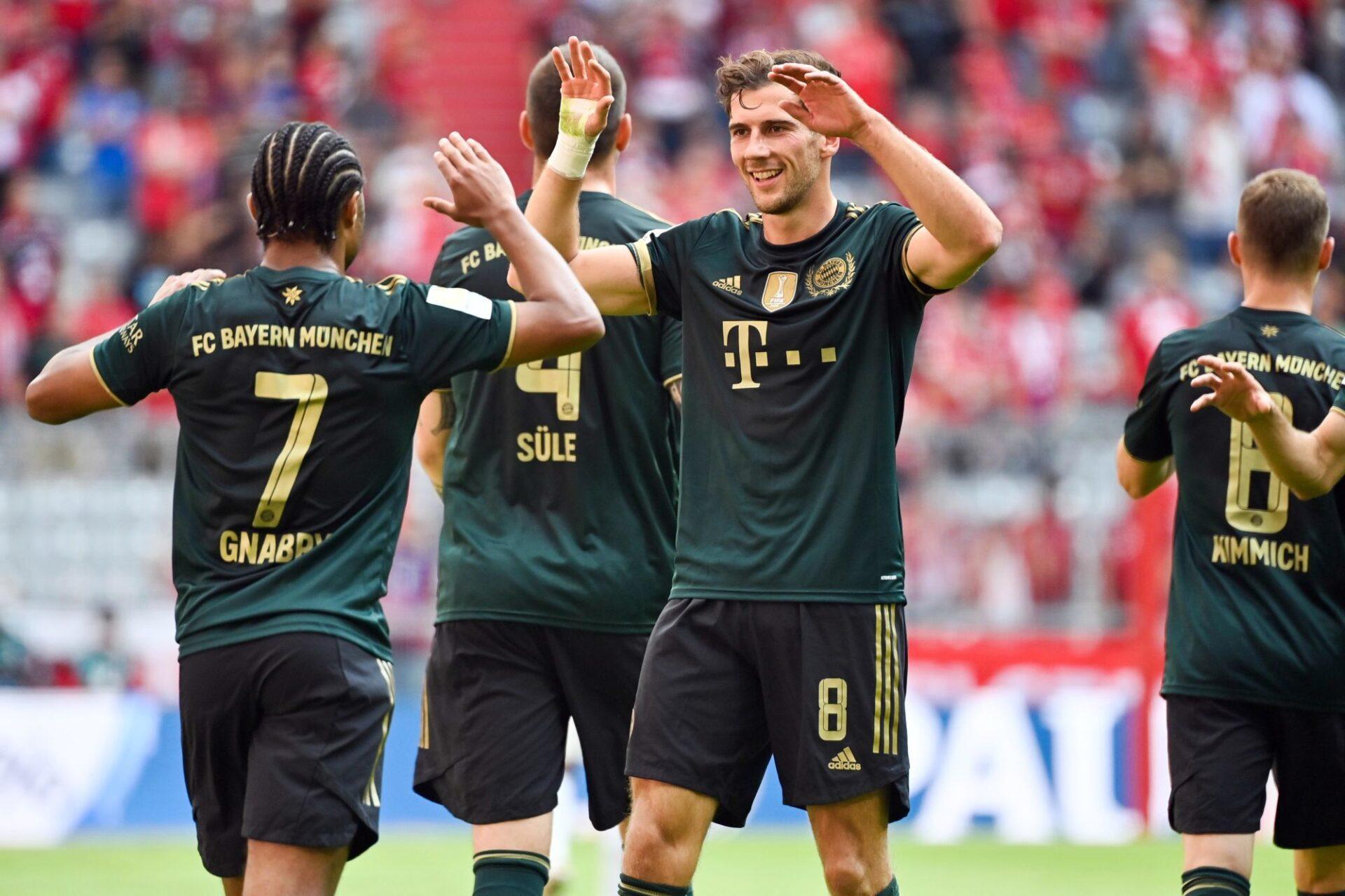 Le Bayern de Leon Goretzka et Serge Gnabry marche sur l'eau et sur ses adversaires depuis un mois. Icon Sport
