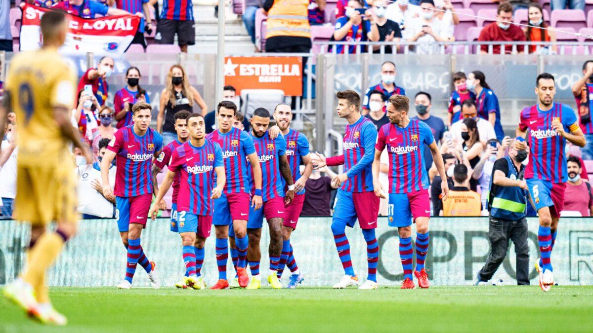 Le Barça a mal démarré, mais fait mieux que la saison passée au même stade. Icon Sport