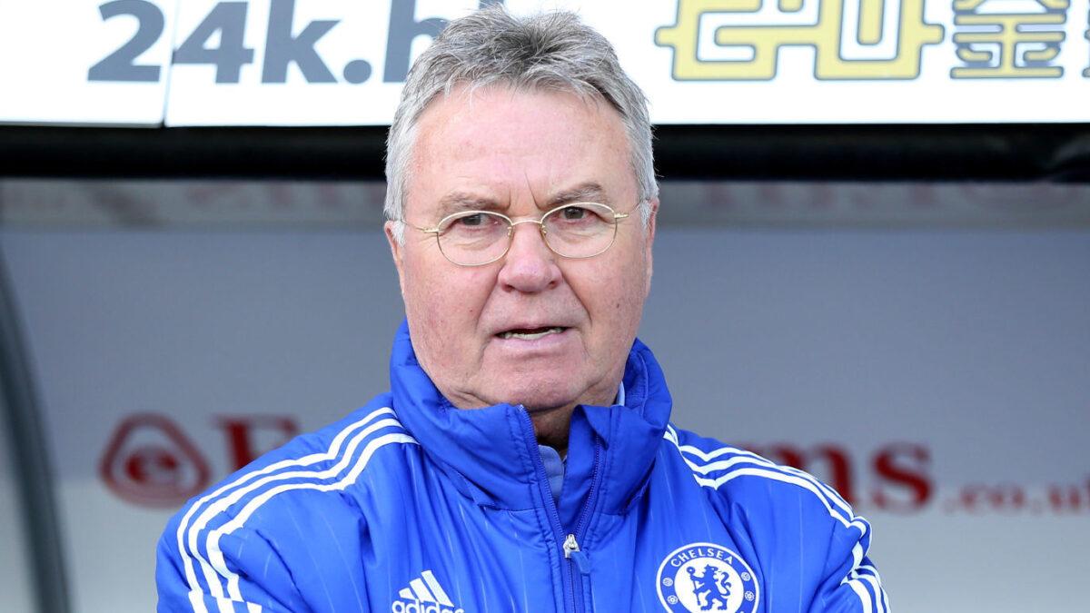 Guus Hiddink a annoncé sa décision de prendre sa retraite. Icon Sport