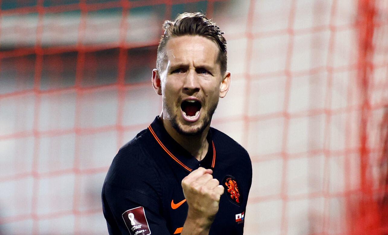 Luuk de Jong est le nouvel attaquant du Barça. Icon Sport