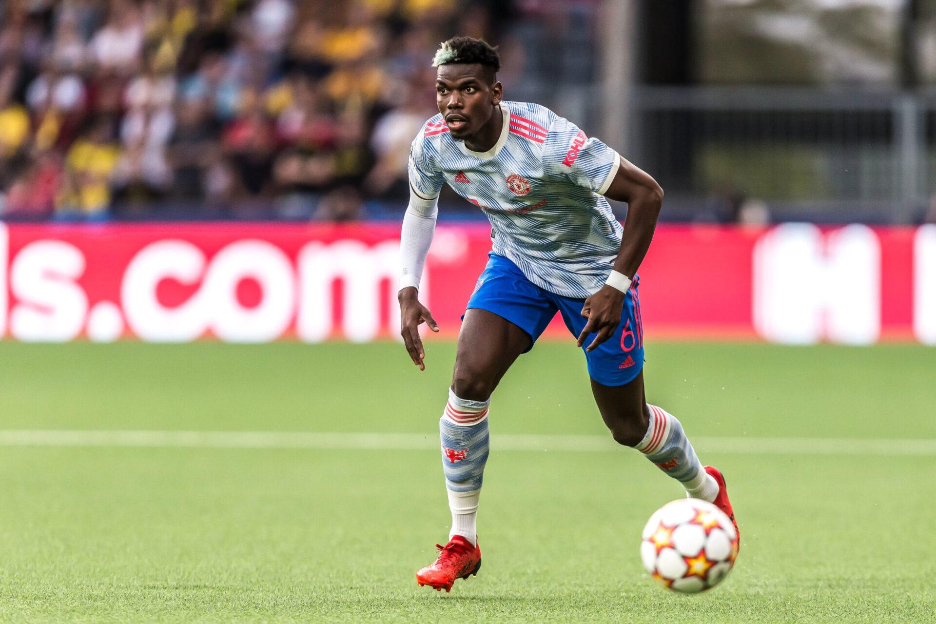 Si Pogba décide de quitter United, il semble plus probable de le voir signer au PSG ou au Real qu'au Barça ou à la Juve (iconsport)