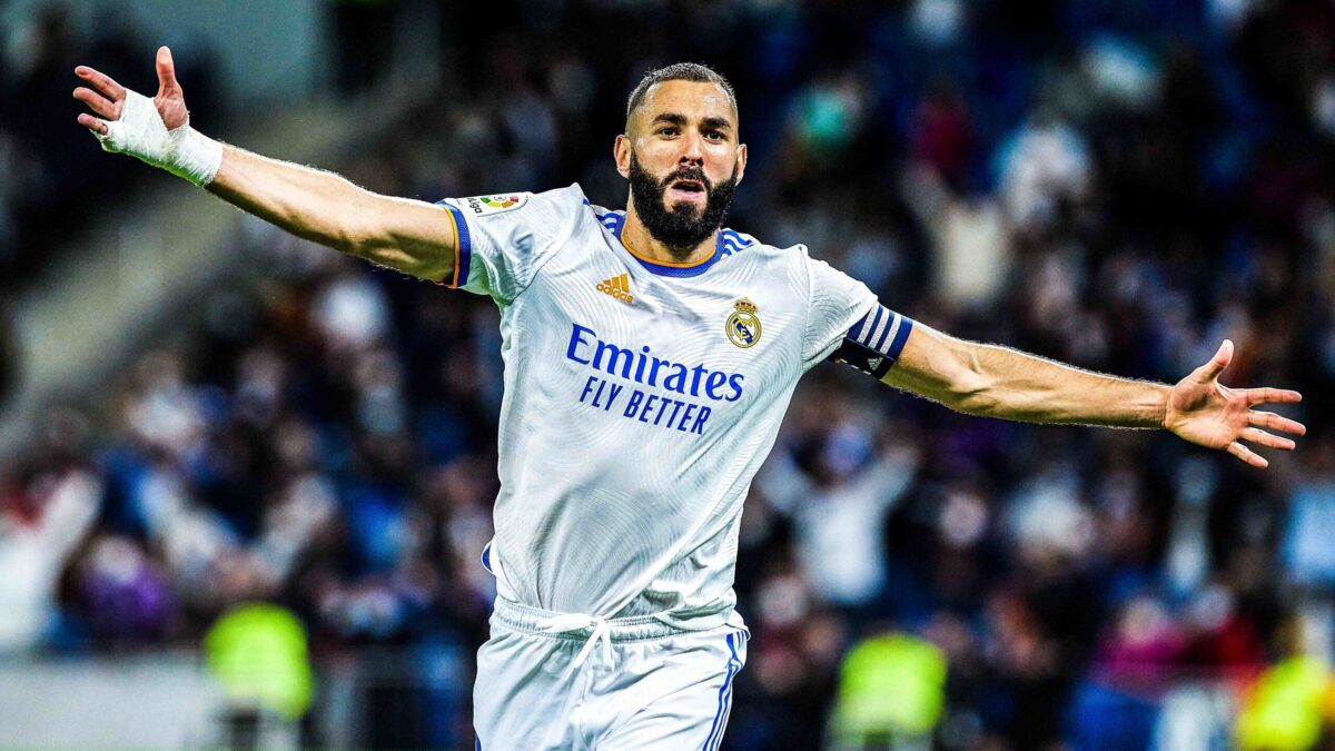 Karim Benzema sous le maillot du Real Madrid (IconSport)