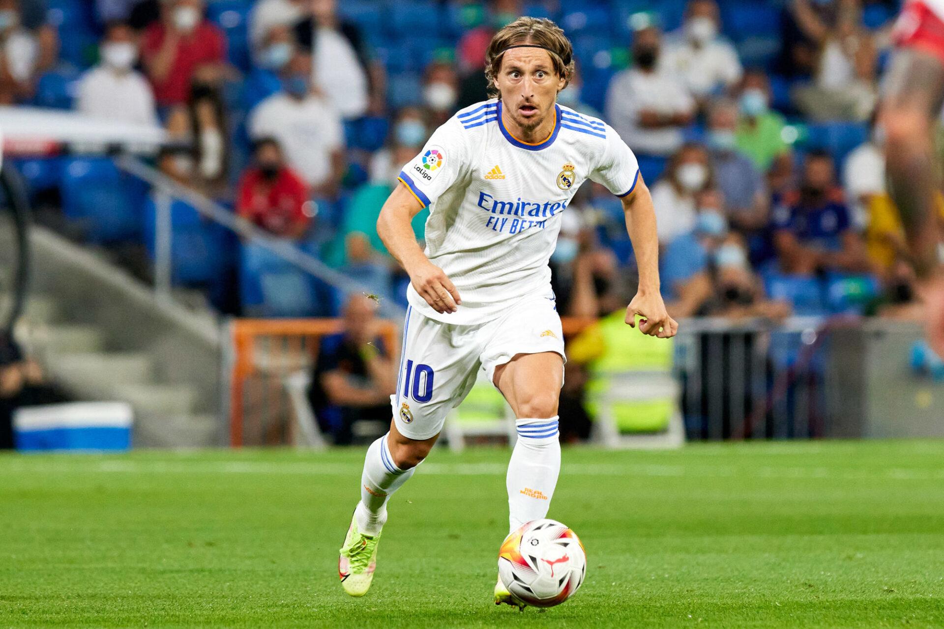 Carlo Ancelotti pourra s'appuyer sur Luka Modric, vainqueur comme lui de la Ligue des champions en 2014 avec le Real, pour bien figurer cette saison. Icon Sport