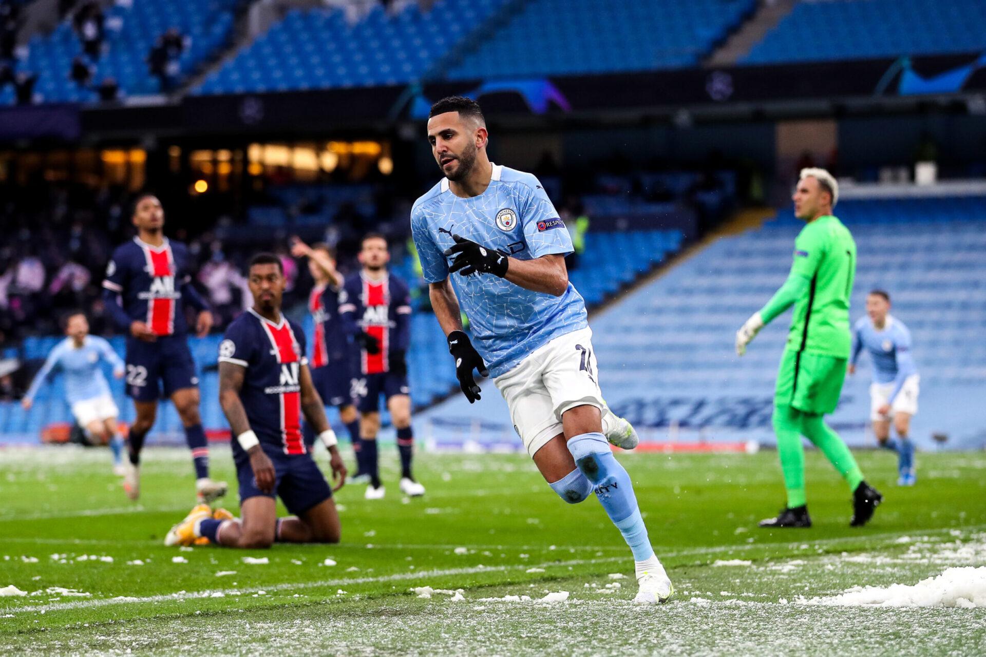 Manchester City reste un mauvais souvenir pour le PSG, battu deux fois en demi-finale la saison dernière (iconsport)