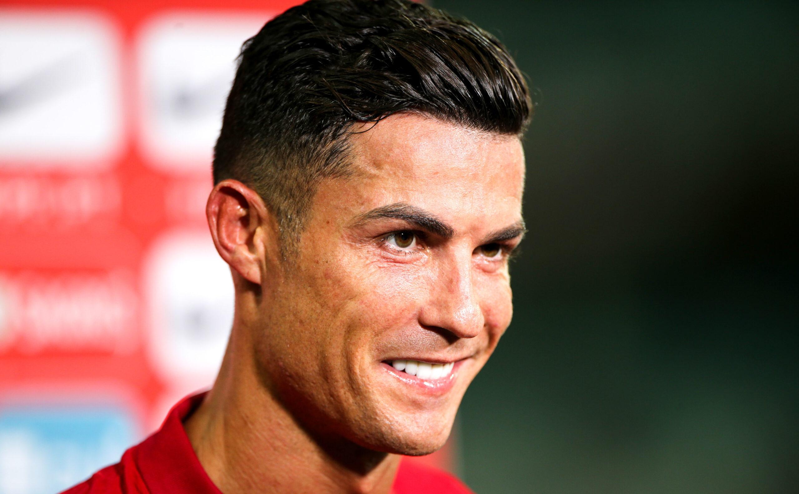 Cristiano en interview après le match face à l'Irlande (2-1) (IconSport)