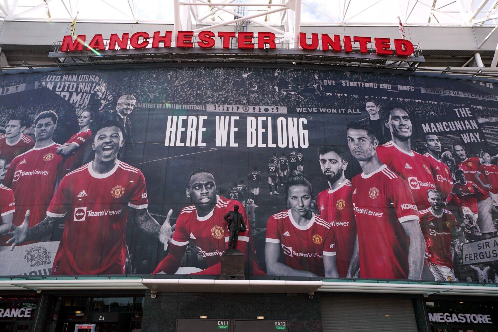 En Angleterre, il faudra se rendre à Old Trafford pour voir Ronaldo jouer ce week-end (IconSport)