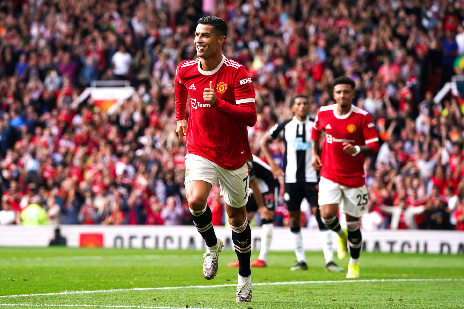 Pogba serait séduit par les arrivées de Varane, Sancho et Ronaldo à United (iconsport)