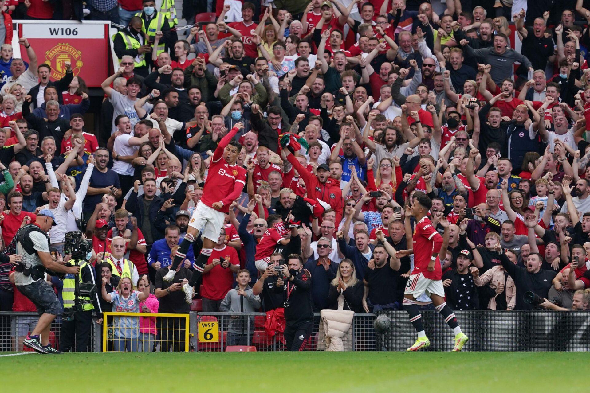 Cristiano Ronaldo a inscrit un doublé face à Newcastle pour son grand retour à Old Trafford. Icon Sport