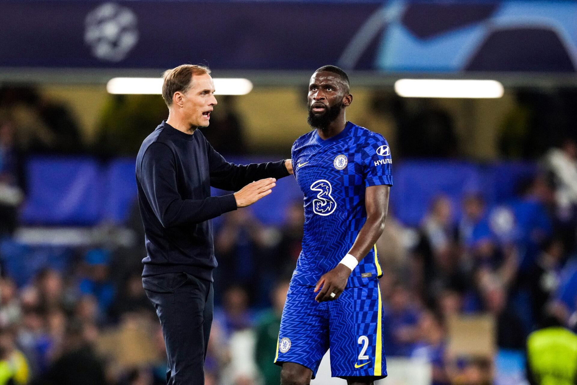 Tuchel veut absolument que Rüdiger prolonge à Chelsea, et pourrait pousser ses dirigeants à lui offrir le salaire qu'il demande (iconsport)