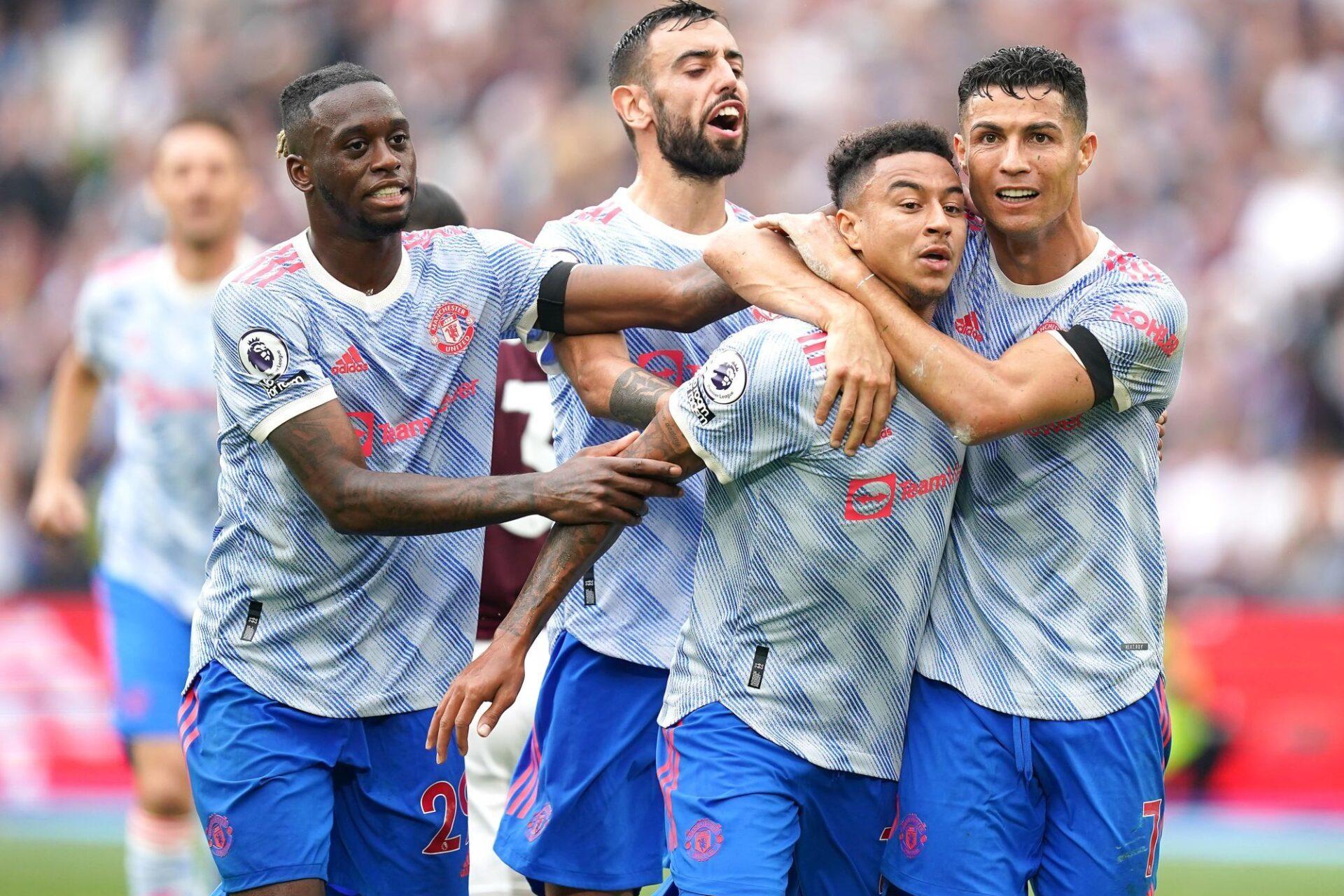 Jesse Lingard a inscrit le but vainqueur pour Manchester United à la 89e minute. Icon Sport