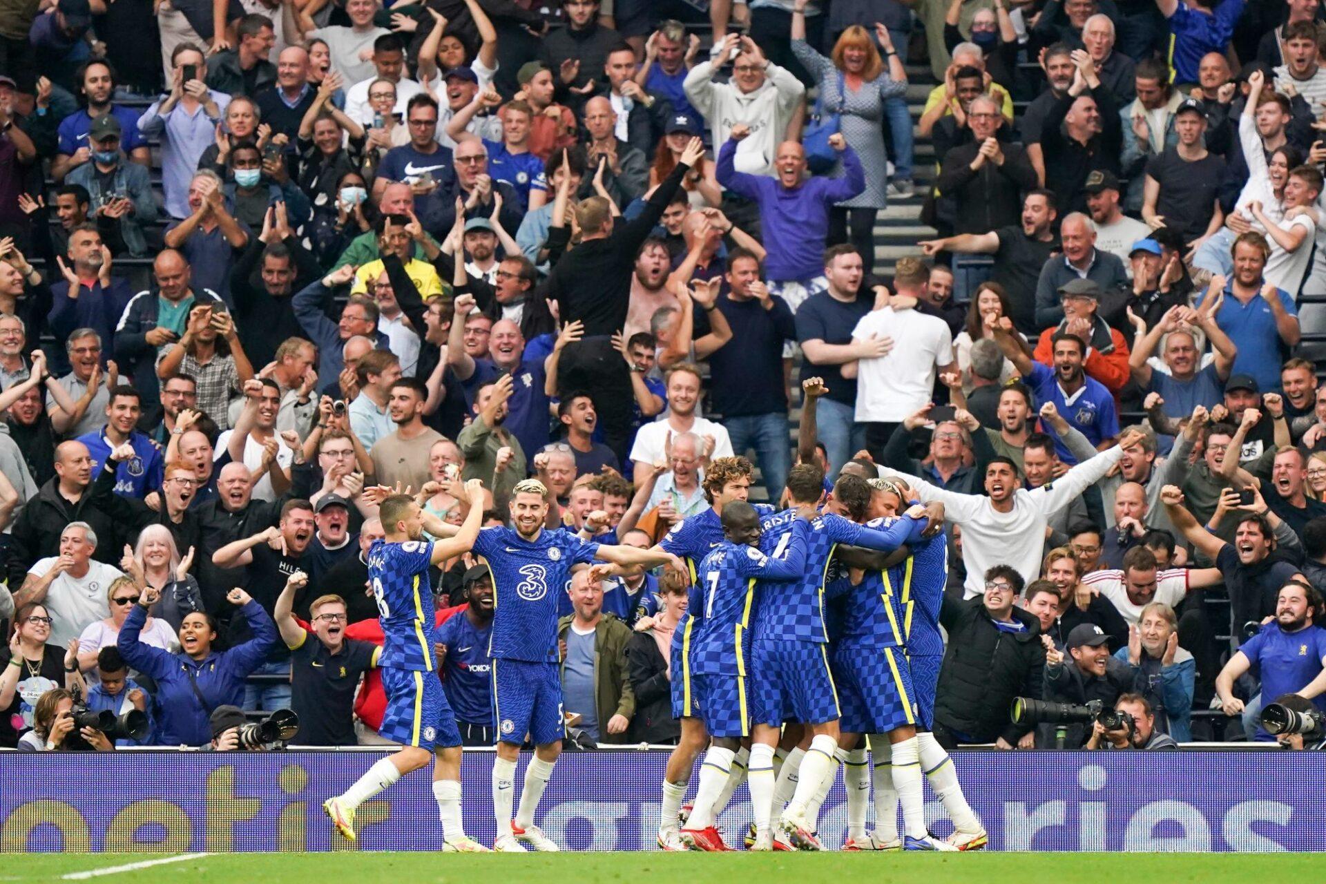 Chelsea a encore été impressionnant contre Tottenham. Icon Sport