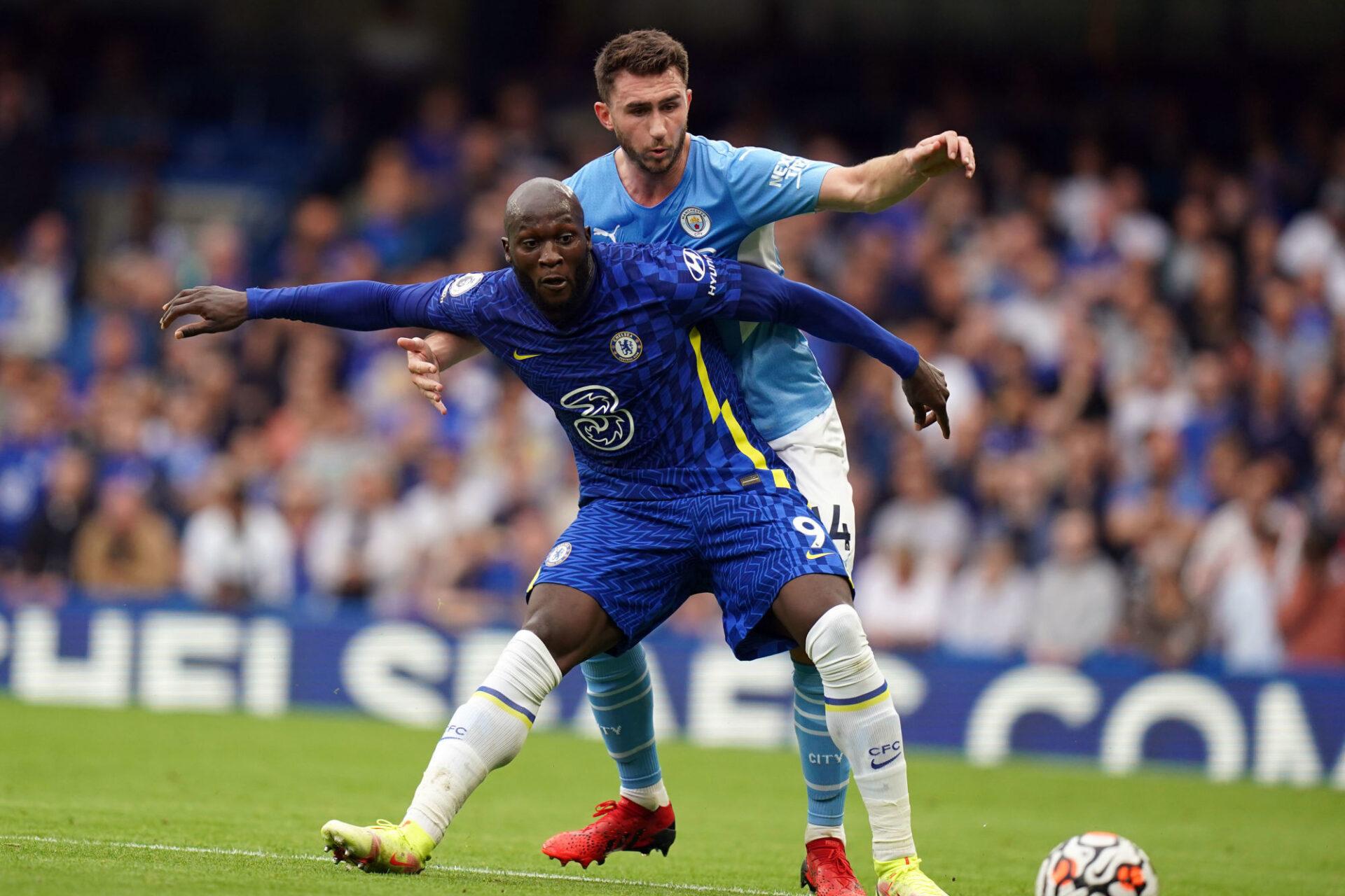 Romelu Lukaku a été complètement maîtrisé par la défense de Manchester City. Icon Sport
