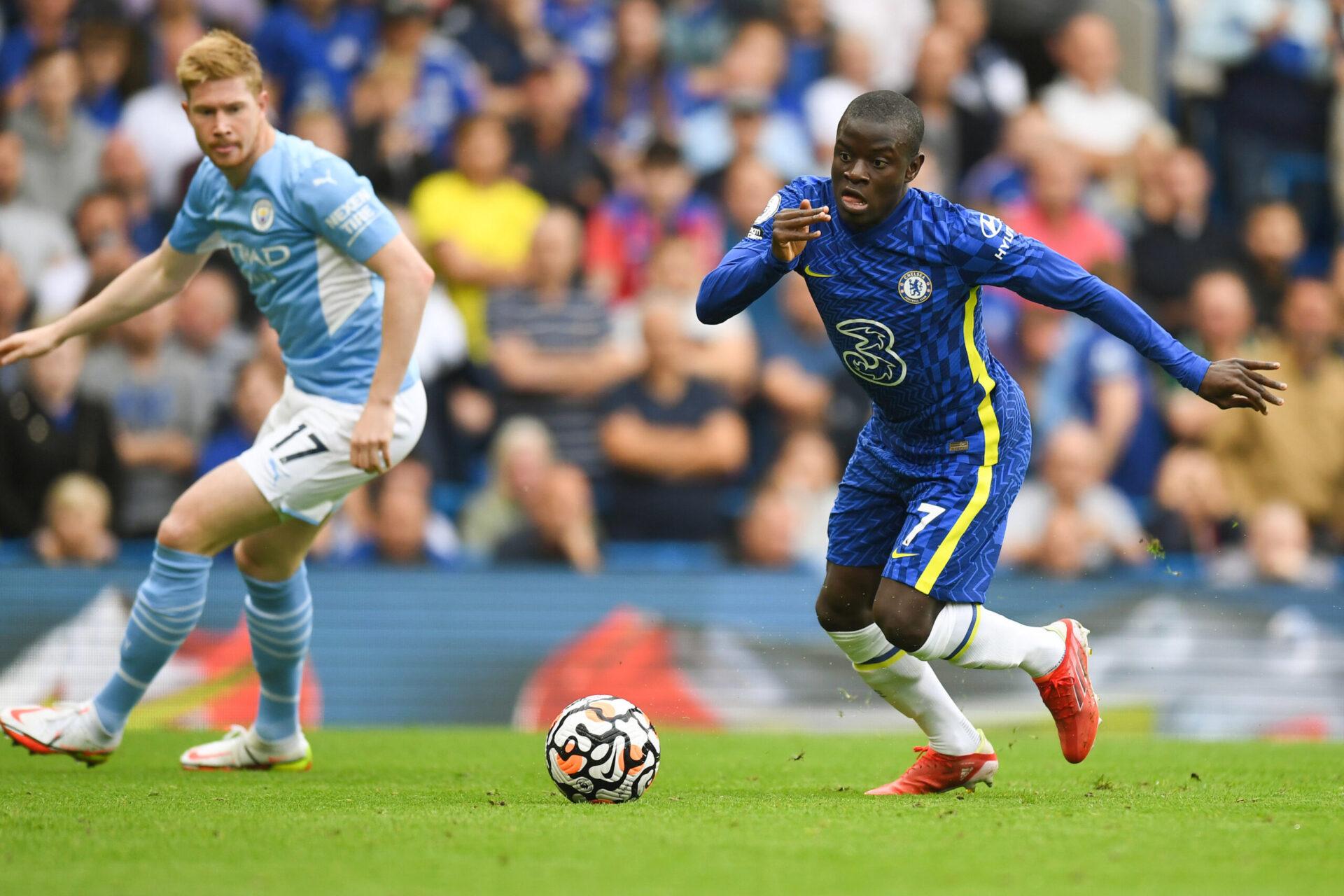 N'Golo Kanté lors du match face à Manchester City (0-1), samedi 25 septembre 2021 (IconSport)