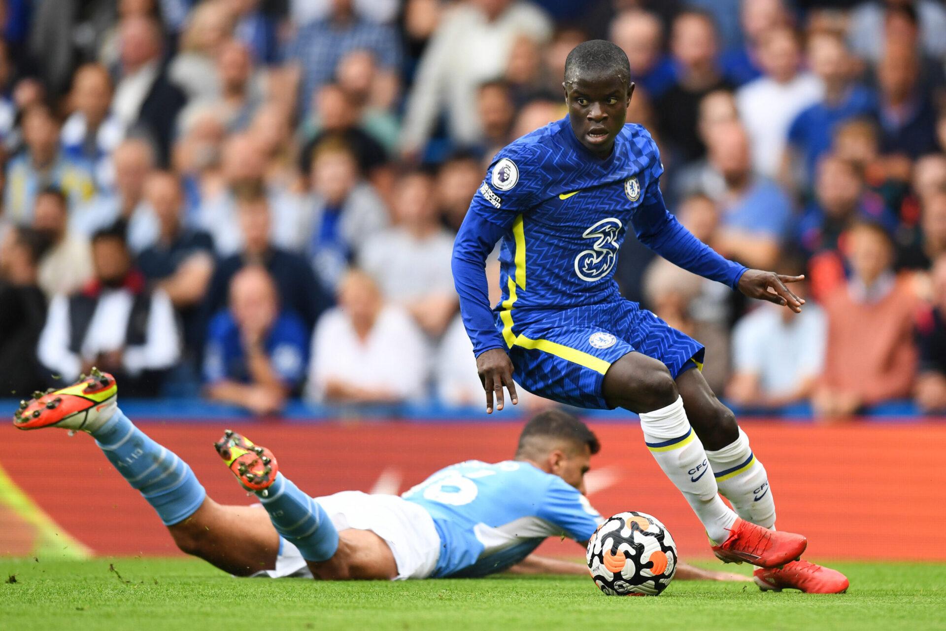 N'Golo Kanté manquera plusieurs matches importants avec Chelsea et l'équipe de France. Icon Sport