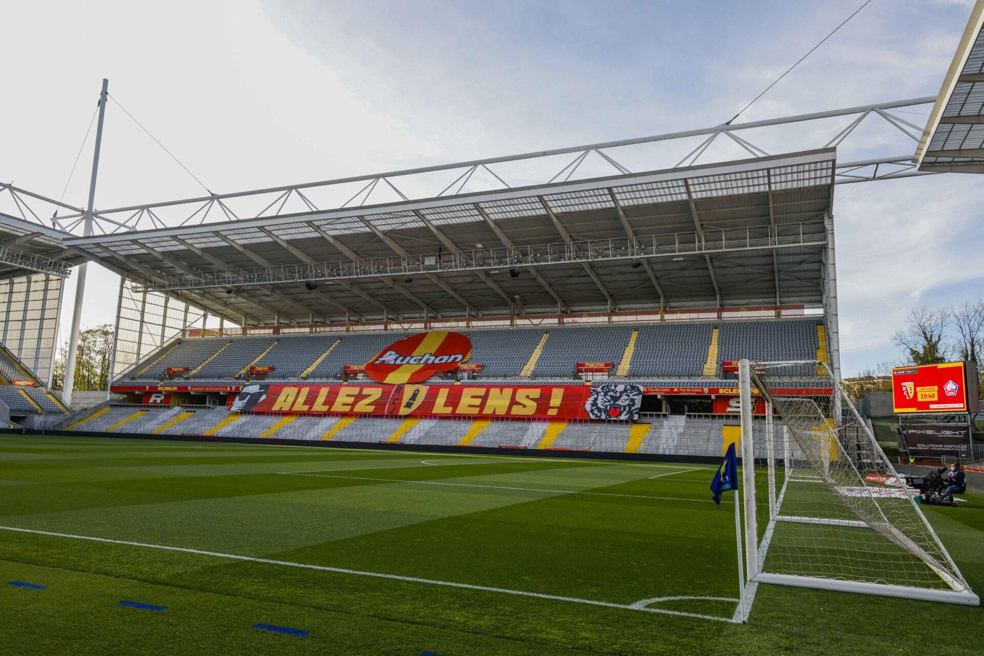 Le stade Bollaert-Delelis sera privé de ses supporters à l'occasion des deux prochains matchs du RC Lens à domicile (iconsport)