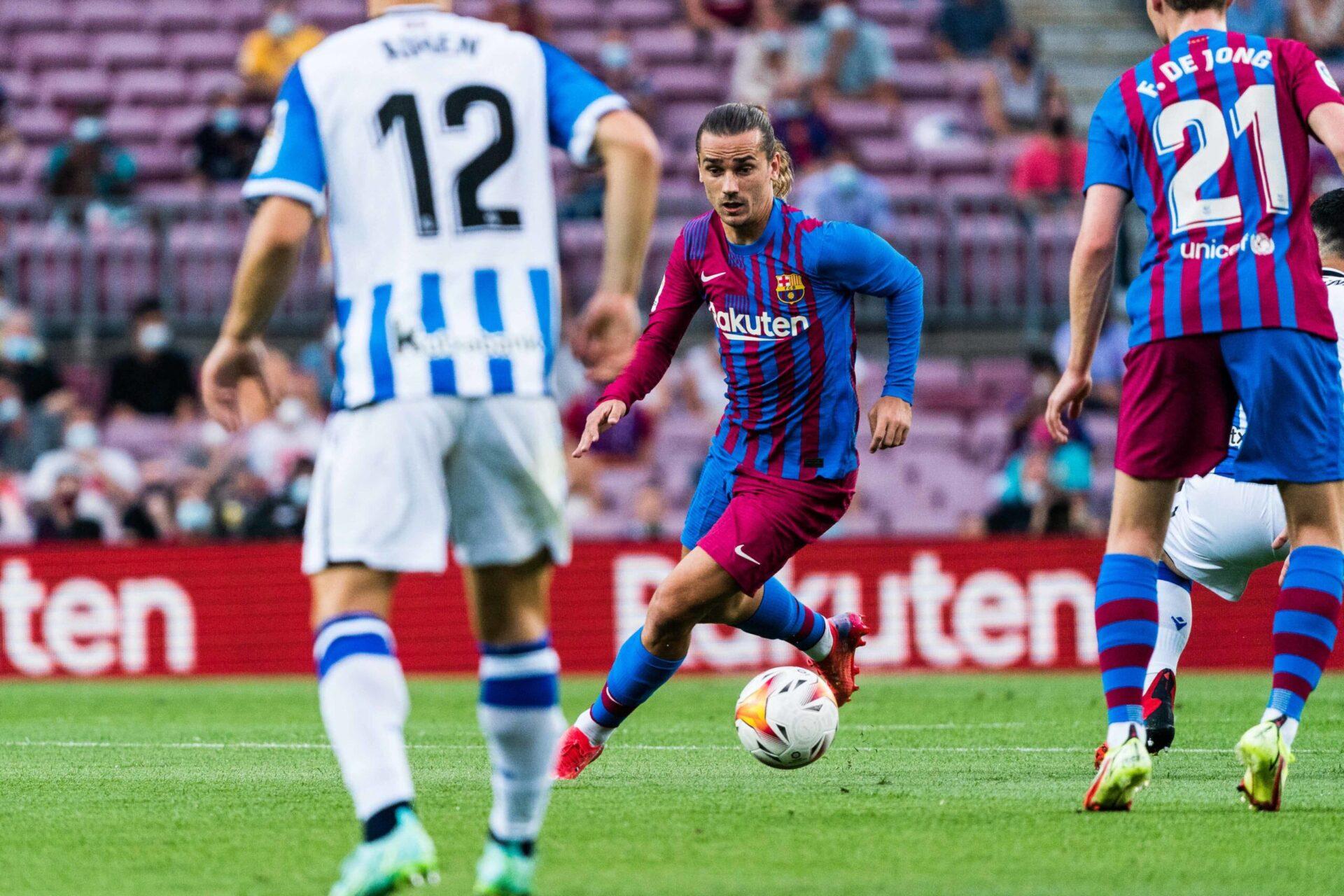 En envoyant Antoine Griezmann à l'Atlético, le FC Barcelone s'assure une économie supérieure à 60 millions d'euros (iconsport)