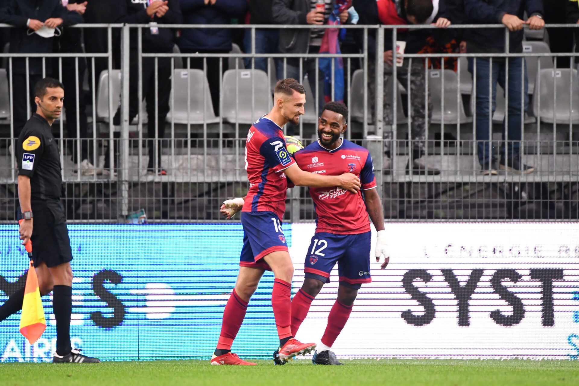 Elbasan Rashani a permis au promu Clermont de glaner un match nul contre Brest. Icon Sport