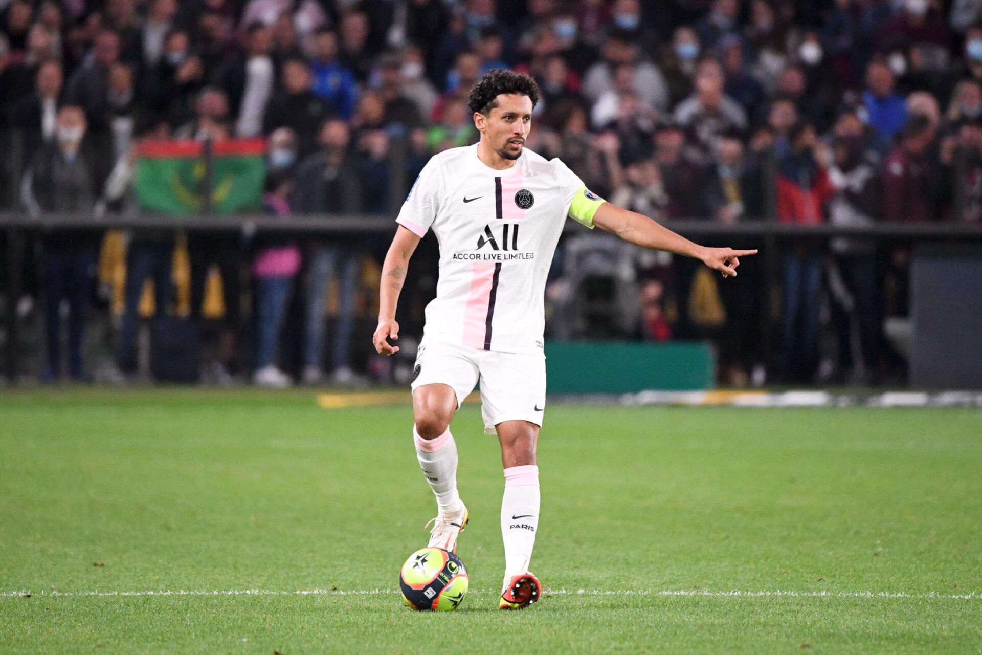 Marquinhos sous le maillot du Paris Saint-Germain (IconSport)