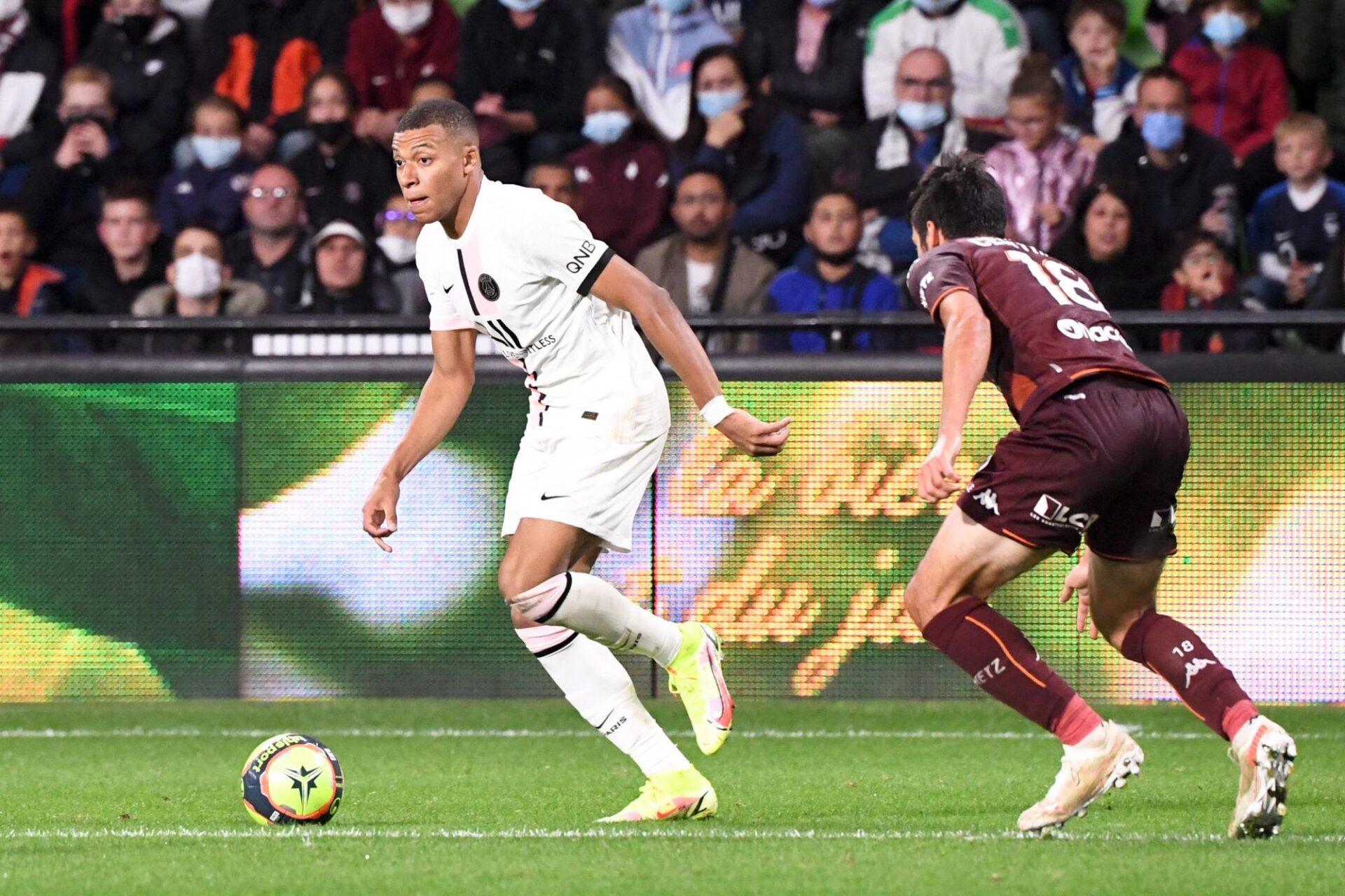 Manchester City prêt à doubler le Real Madrid pour arracher Kylian Mbappé des griffes du PSG ? Icon Sport
