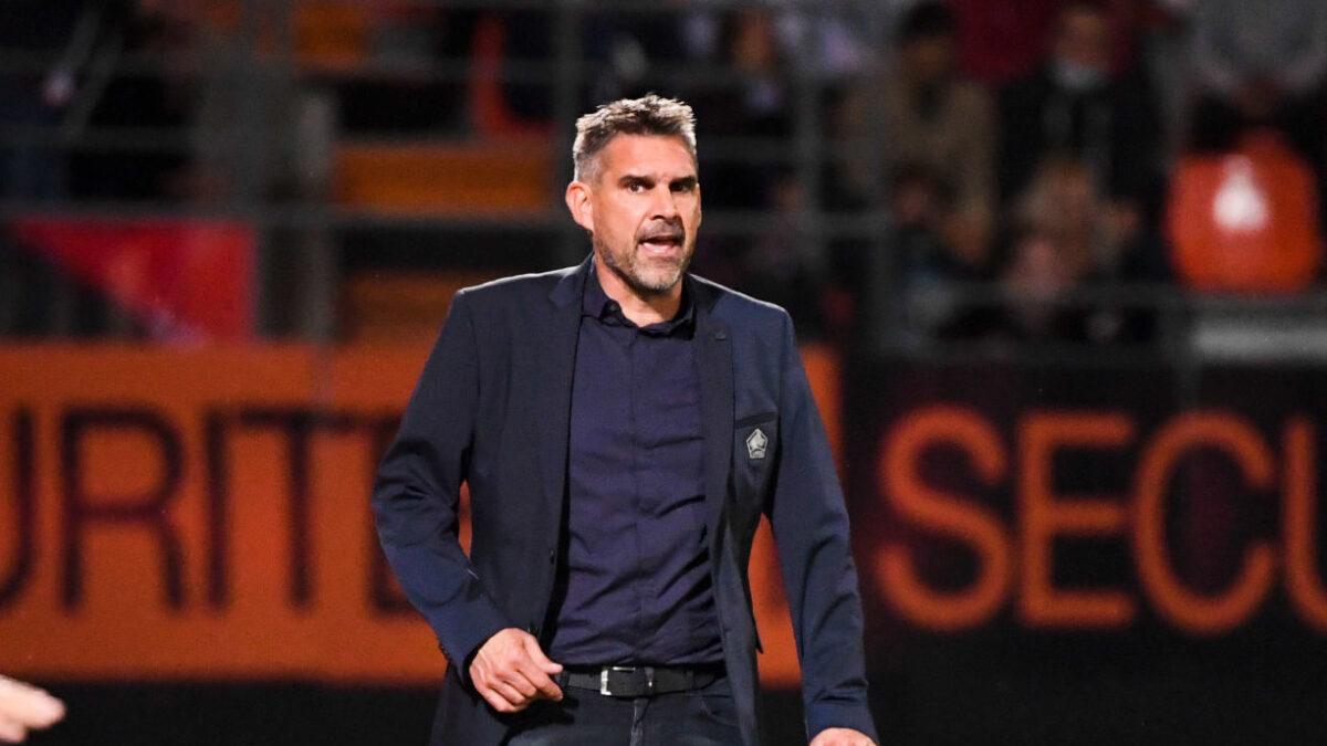Jocelyn Gourvennec s'est exprimé en conférence de presse d'après match suite au match nul contre Wolfsburg (0-0) en Ligue des champions. Icon Sport