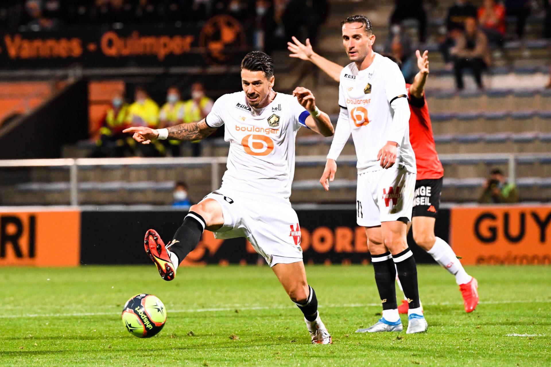 José Fonte contre Lorient. Icon Sport
