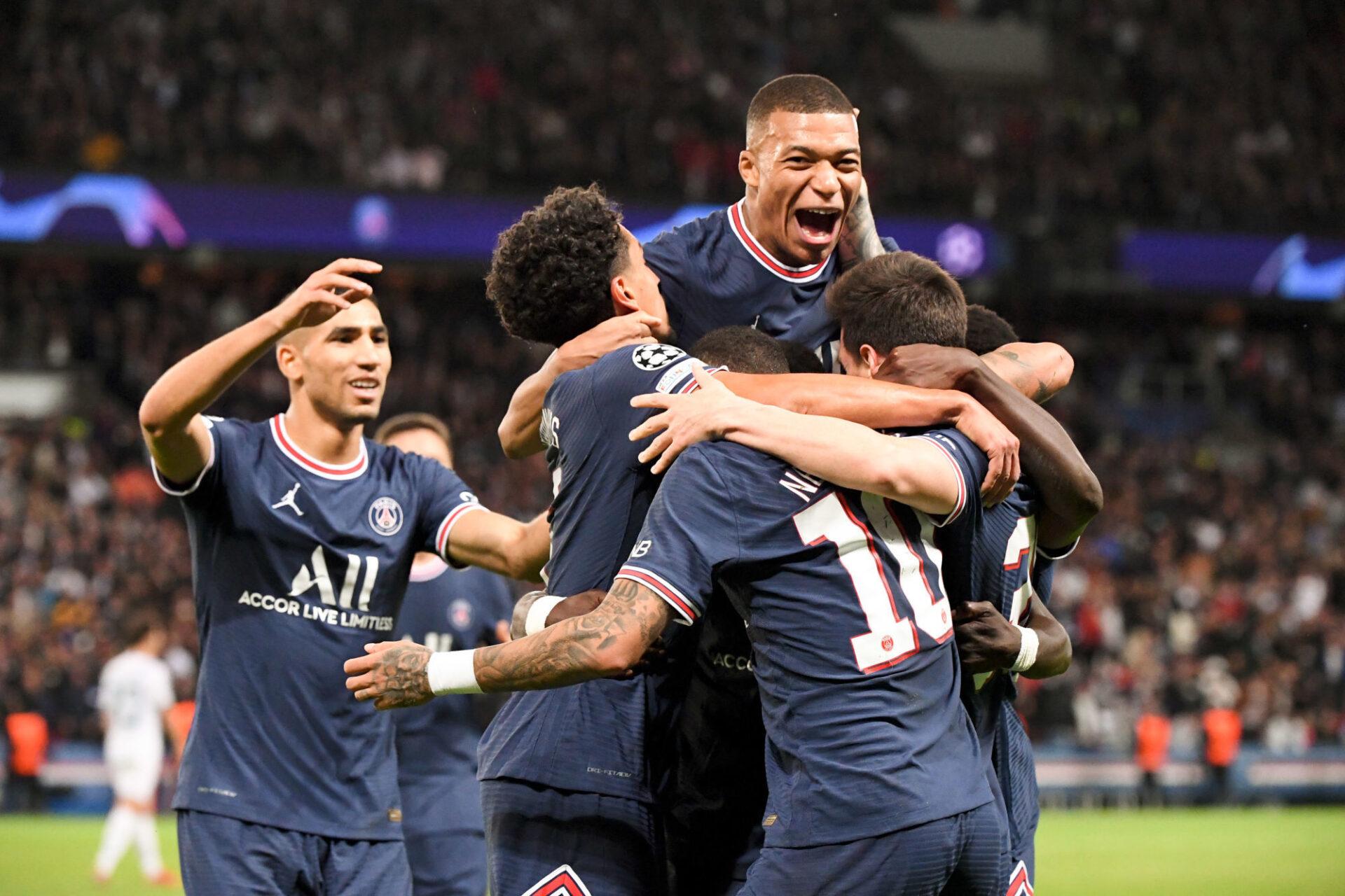Kylian Mbappé a lié le Paris Saint-Germain contre Manchester City (2-0). Icon Sport