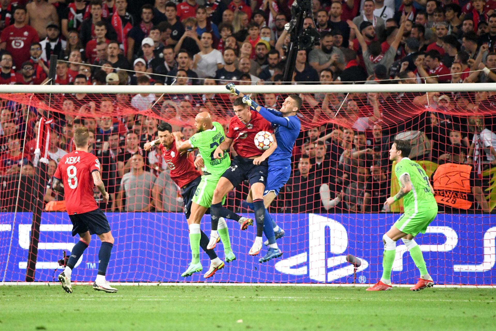 Lors de la première journée, le LOSC avait concédé le match nul contre Wolfsburg au stade Pierre Mauroy. Icon Sport