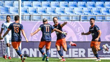 Valère Germain et Montpellier ont gagné contre Saint-Etienne. Icon Sport