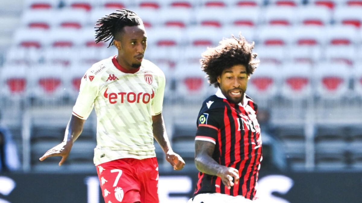Le Monaco de Gelson Martins a accroché le Nice de Dante. Icon Sport
